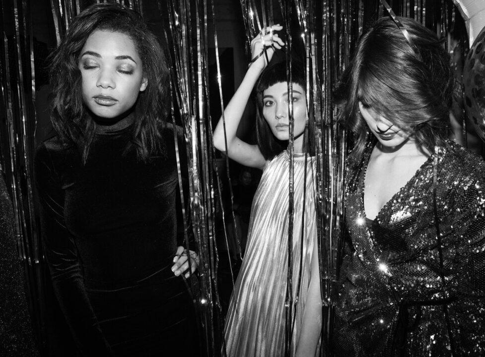 Tree women in a Nightclub