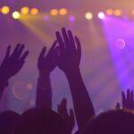 People dancing in a nightclub in Edinburgh