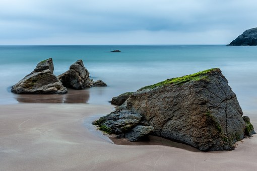 The beach at Islay where Islay Whisky originates from.