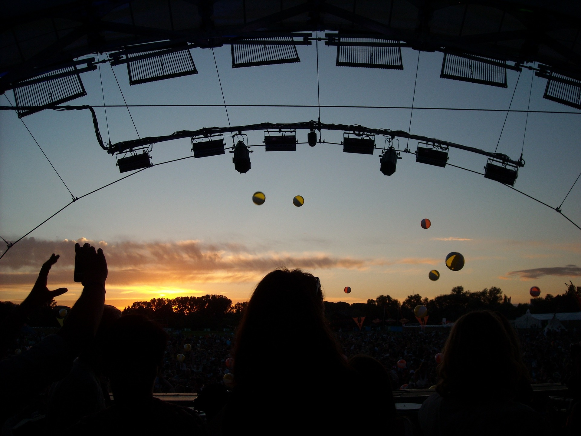Enjoy the sunset at an upcoming festivals in Europe